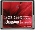 Kingston Ultimate 266X CompactFlash 16GB UHS-II