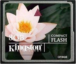Kingston CompactFlash 8GB Class 6