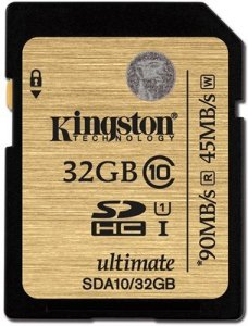 Kingston Ultimate SDHC 32GB Class 10