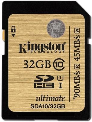 Kingston Ultimate SDHC 32GB Class 10