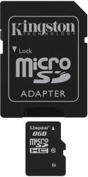 Kingston microSDHC 8GB Class 4