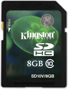 Kingston SDHC 8GB Class 10