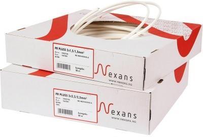 Nexans PR Pluss 2x2.5/2.5mm2 50m kabel 1067001