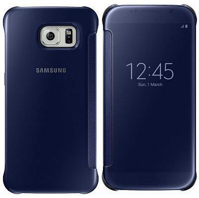 Samsung Clear View Cover til Galaxy S6 Flat