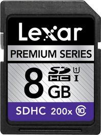 Lexar Premium 200X SDHC 8GB UHS-I
