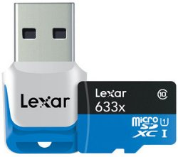 Lexar 633X microSDXC 128GB UHS-I