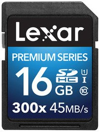 Lexar Platinum II 300X SDXC 16GB Class 10