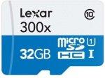 Lexar 300X microSDHC 32GB Class 10