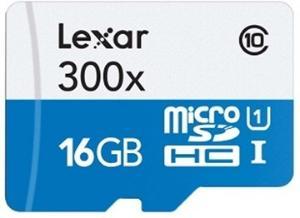Lexar 300X microSDHC 16GB Class 10