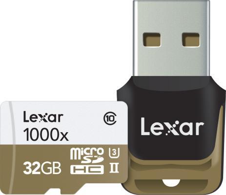 Lexar 1000X microSDHC 32GB UHS-II