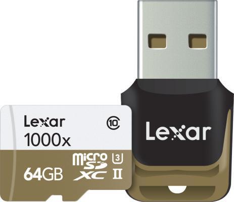 Lexar 1000X microSDXC 64GB UHS-II