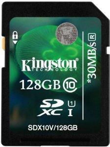 Kingston SDXC 128GB Class 10