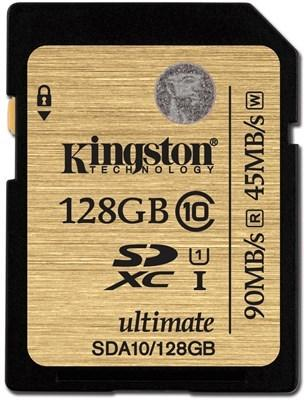 Kingston Ultimate SDXC 128GB Class 10