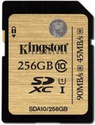 Kingston Ultimate SDXC 256GB Class 10
