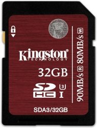 Kingston U3 SDHC 32GB UHS-I