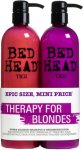 TIGI Bed Head Dumb Blonde Shampoo & Conditioner 2x750ml