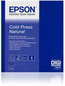 "Epson Cold Press Natural 24"" x 15m"