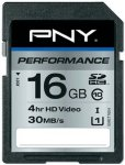 PNY Performance SDHC 16GB Class 10