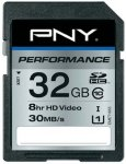 PNY Performance SDHC 32GB Class 10