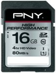 PNY High Performance SDHC 16GB Class 10