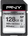 PNY High Performance SDXC 128GB Class 10