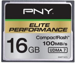 PNY Elite Performance CompactFlash 16GB UDMA 7