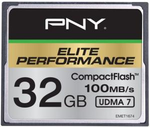 PNY Elite Performance CompactFlash 32GB UDMA 7
