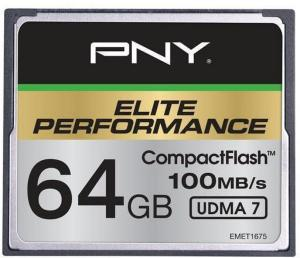 PNY Elite Performance CompactFlash 64GB UDMA 7