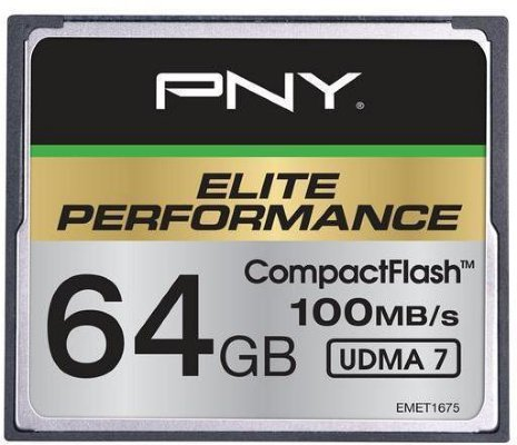 PNY Elite Performance CompactFlash 64GB UDMA 7