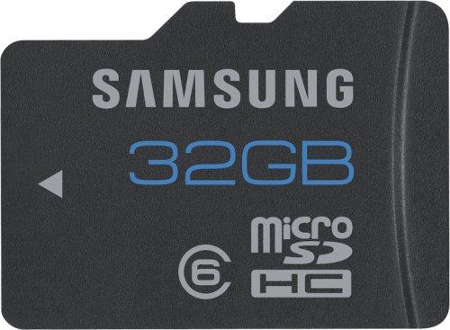 Samsung microSDHC 32GB Class 6 24MB/s