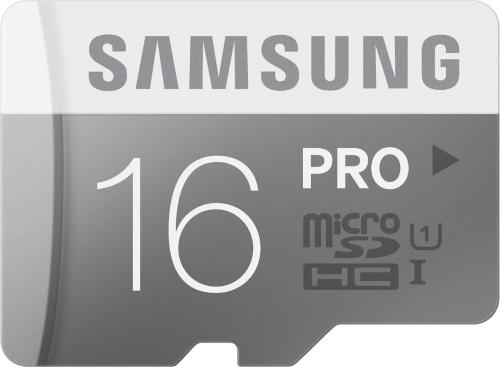 Samsung Pro microSDHC 16GB Class 10