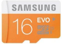 Samsung Evo microSDHC 16GB UHS-I