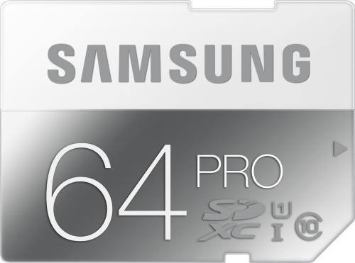 Samsung Pro SDXC 64GB UHS-I