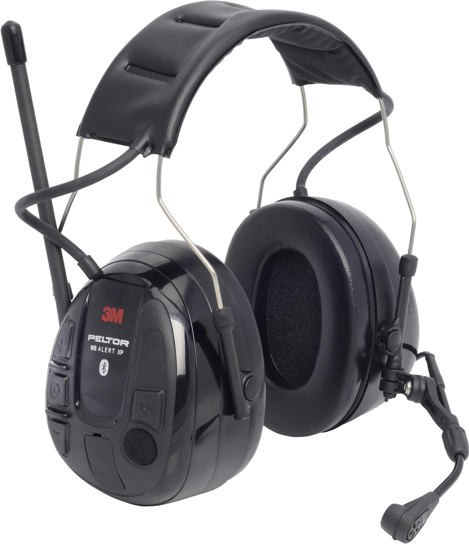 WS Alert XP 3M Peltor Hørselsvern Bluetooth med hjelmfeste