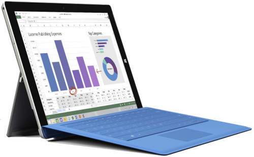 Microsoft Surface 3 (7G5-00019)