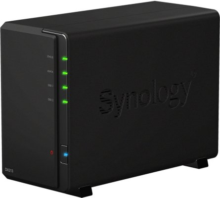 Synology DX213 2 x 3TB (ST3000VX000)