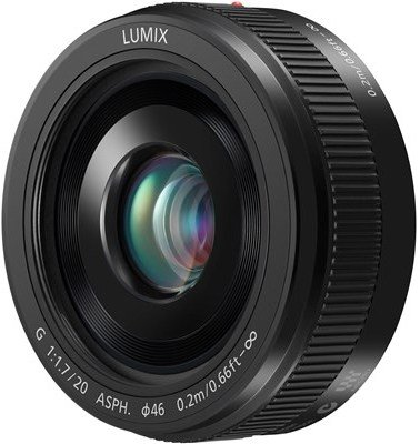 Panasonic Lumix G 20mm 1,7 II ASPH
