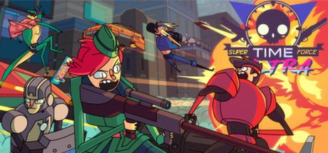 Super Time Force Ultra til Playstation Vita