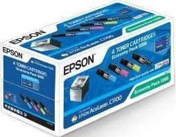 Epson C1100 Svart, Gul, Cyan, Magenta