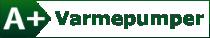 A+ Varmepumper logo
