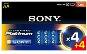 Sony Stamina Platinum AA - 8stk