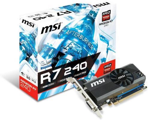 MSI Radeon R7 240 4GB LP