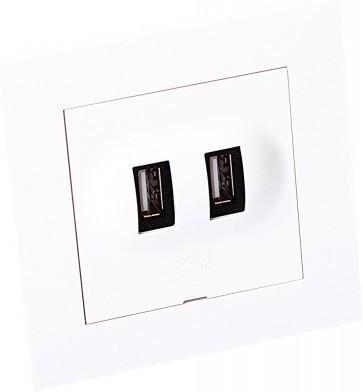 Elko Plus USB-kontakt 6630095