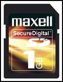 Maxell Secure Digital 128MB
