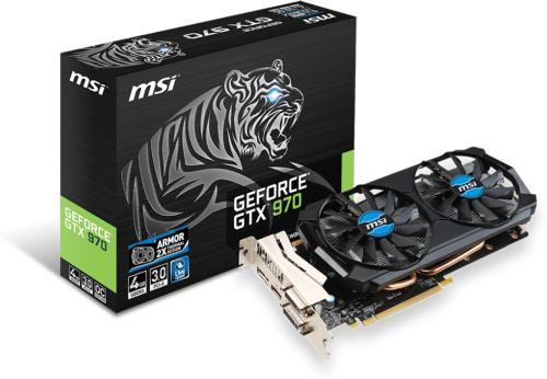 MSI GeForce GTX 970 Tiger