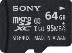Sony Micro SD 64GB (SR-64UYA)