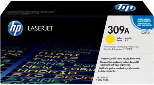 HP Color Laserjet 3500 Gul