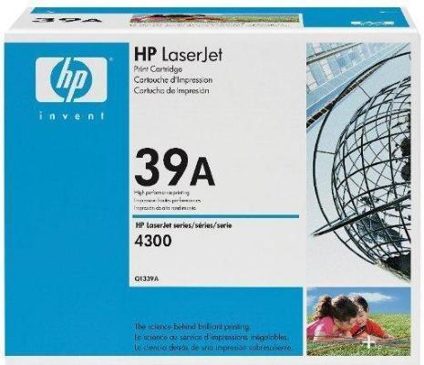 HP LaserJet 39A Svart