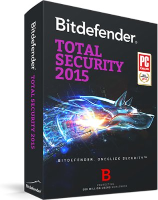 BitDefender Total Security 2015 (3 lisenser)