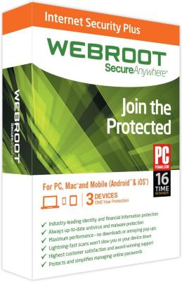 Webroot Internet Security Plus 2015